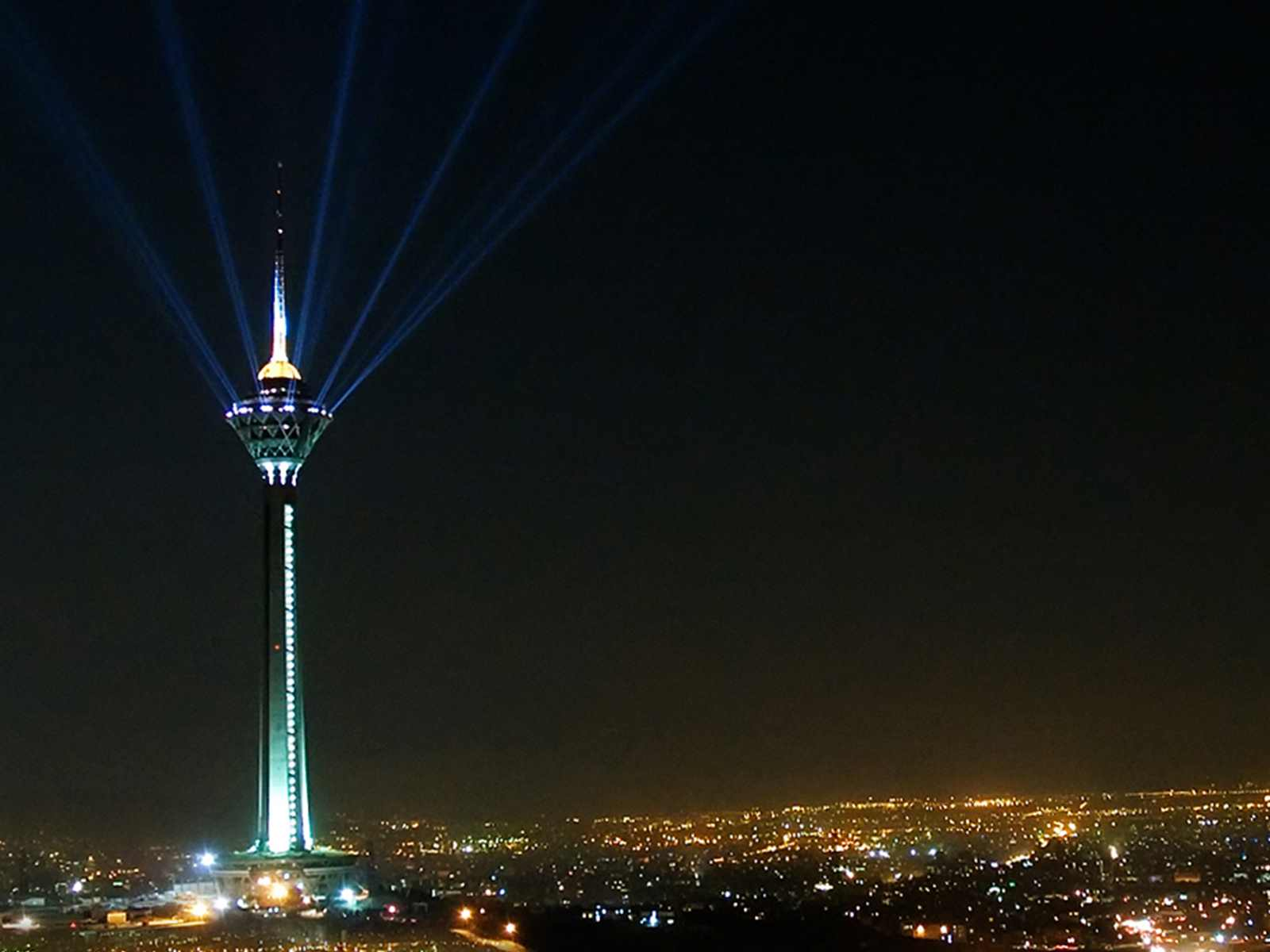 Milad Tower is the tallest tower in the northwest of Tehran, the capital of Iran.