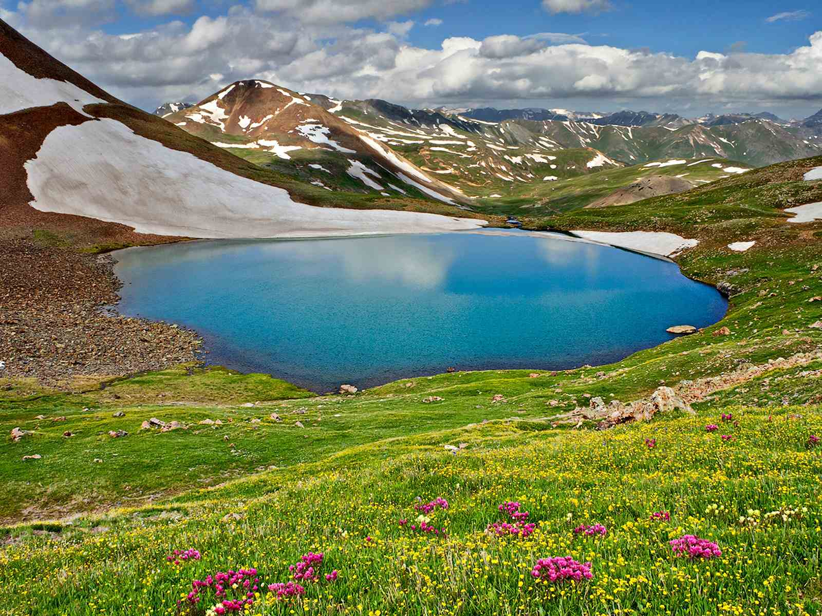 Lake Neur is a lake between Talesh and Ardebil and Khalkhal
