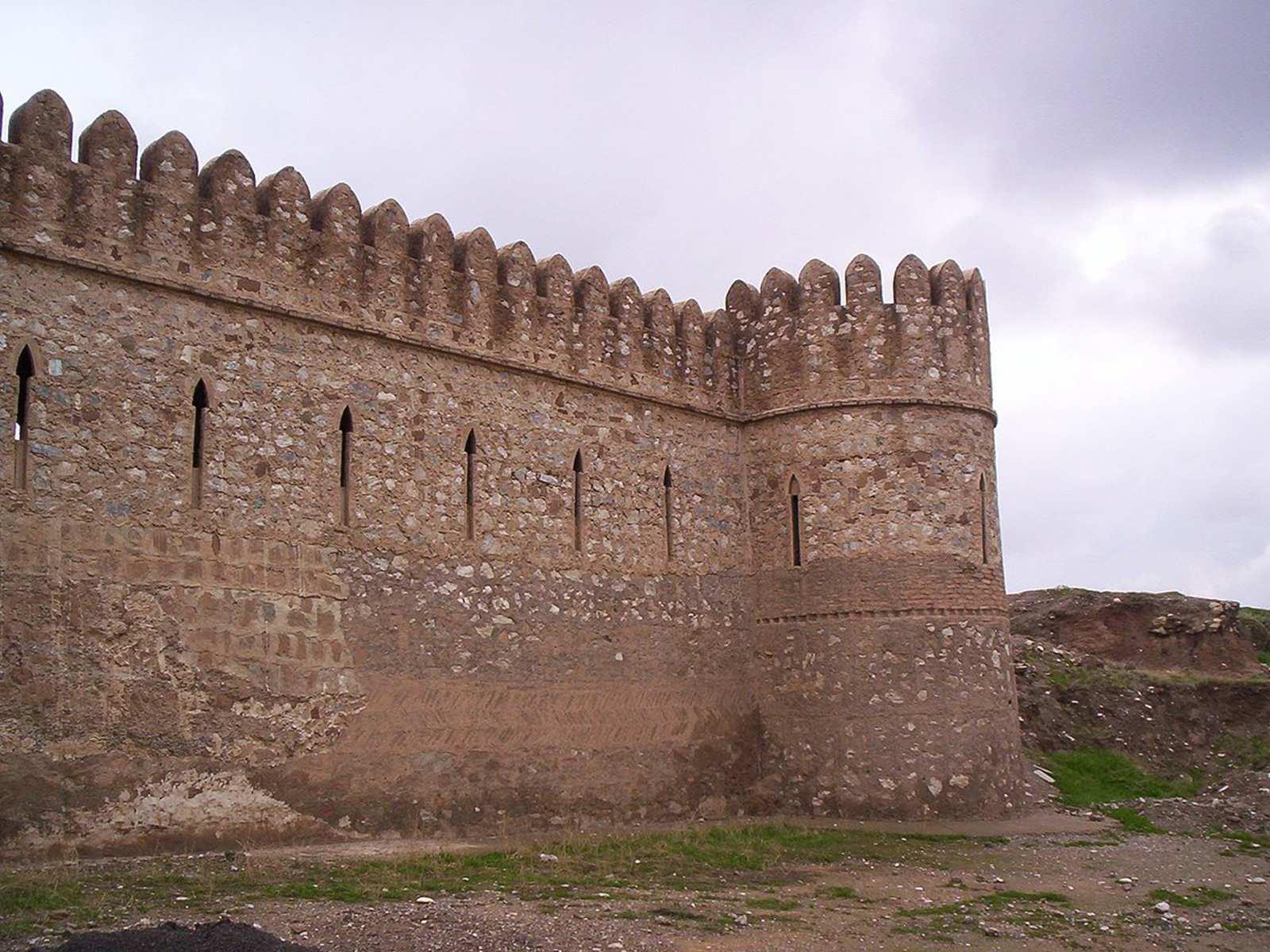 قلعه کرکوک واقع  در مرکز استان کرکوک