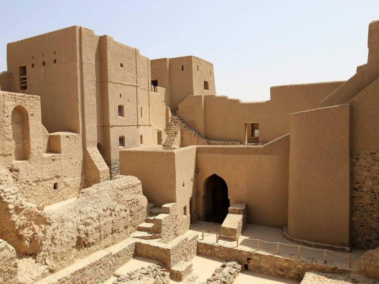 بهلاء یکی از مكانهای زیبا واقع در شمال کشور عمان