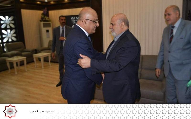 گسترش توسعه روابط اقتصادی ایران و عراق