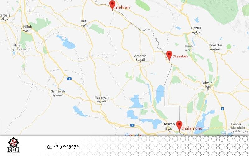 مرزهای مشترک ایران و عراق