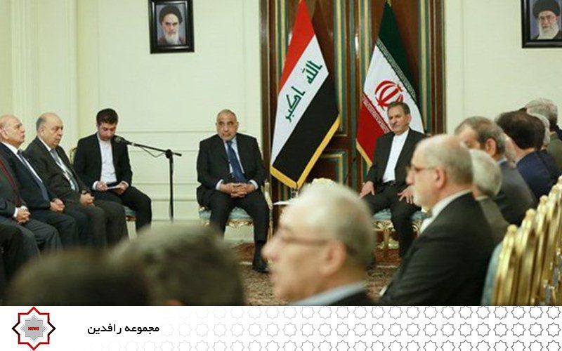 دیدارهای متقابل مقامات ارشد ایران و عراق